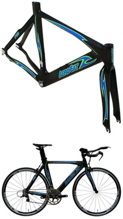 AeroCat Releases Aerodynamic Triathlon and Time Trial Bicycle