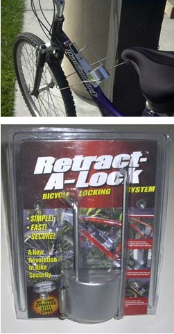 Astrotel Introduces the Retract-A-Lock, a New Kind of Bicycle Lock
