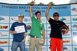 BIONICON takes the win at Garda Lake, Italy freeride contest