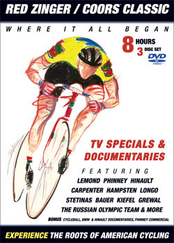 VeloGear Releases Red Zinger/Coors® Classic DVD