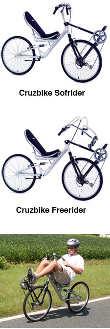 Cruzbike Unveils Two Recumbent Designs