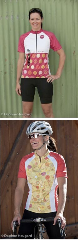 Dude Girl Brings Spirited Designs to Women's Cycling Apparel for Spring 2011