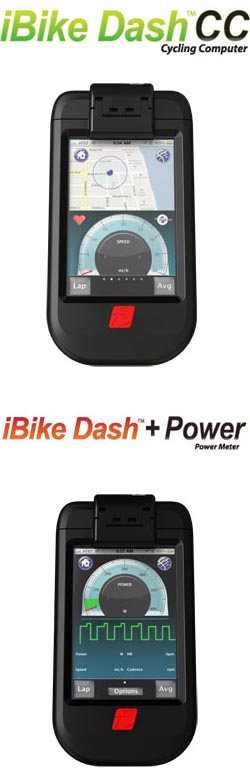 Velocomp Demos iPhone Based iBike Dash™  at Interbike