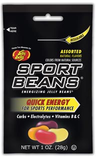 Sport Beans Jelly Beans Go Natural at Interbike