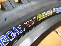 Kenda Tires Debuts the 650B/27.5 Nevegal at the 2008 Taipei International Cycle Show