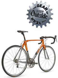 Kestrel RT 700 Road Bike Named as Outside Magazine 2007 Gear of the Year