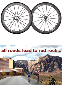 Lew Racing's Pro VT-1:  The lightest production wheelset in the world...880 grams or less GUARANTEED.