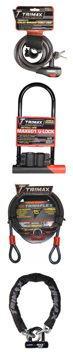 Lock-it-Up with TRIMAX Locks; 