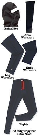 Pace Sportswear Revamps its Tights & Warmers