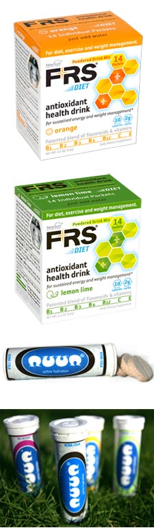 New Flavors for FRS Powder and nuun hydration tablets!