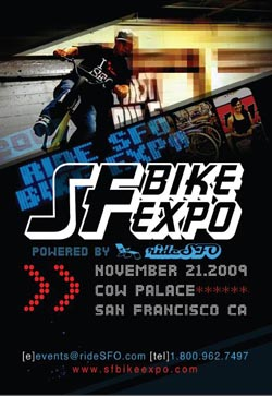 San Francisco Bay Area Bike Expo Website and Registration is LIVE