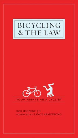 Cycling Attorney Bob Mionske to Discuss Bias Against Cyclists and Cyclists' Rights During National Speaking Tour