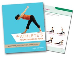 Sage Rountree Releases First Book of Yoga Routines for Athletes