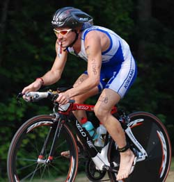 Velo Vie Sponsored Pro, Felipe Bastos, Sets New Course Record at Tupelo King of the Hill Triathlon