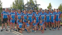 Velovie Bicycles and California Pools and Spas Cycling Team Join Forces