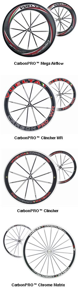 Vuelta Offers Full Line of 2008 Italian Wheels – 